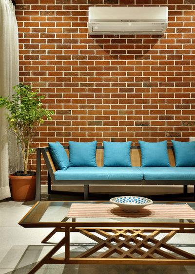 Indian Living Room by Studiovistara