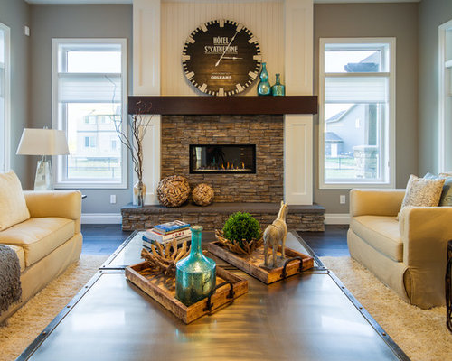 Large arts and crafts living room design ideas Arts and crafts living room ideas