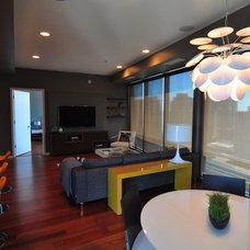 Contemporary Dining Room by Habitar Design