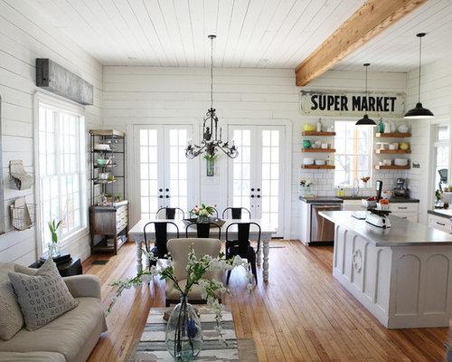 Shabby Chic Style Wohnzimmer Ideen Frs Einrichten Houzz