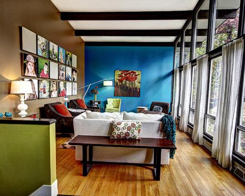 Most Popular Midcentury Grand Rapids Living Room Design Ideas Gorgeous Retro Modern Living Room Remodelling