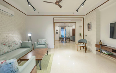 Gurgaon Houzz: Wooden Accents & Minimalist Decor Define This Home