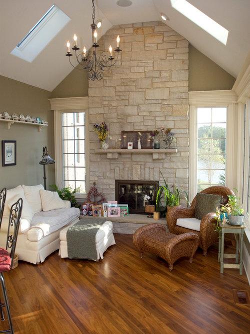 Stone Fireplace Houzz
