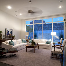Contemporary Family Room by The Front Door / Dwayne Carruth