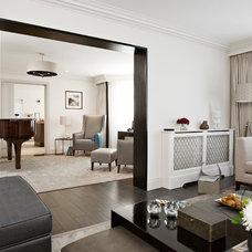 Contemporary Living Room by Boscolo Interior Design
