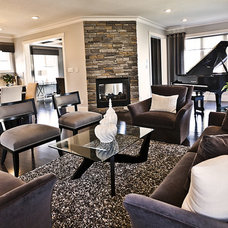 Contemporary Living Room by Marcson Homes Ltd.