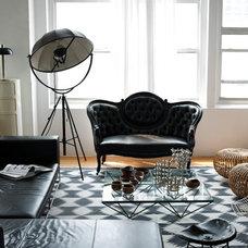 Industrial Living Room by studio recreation inc