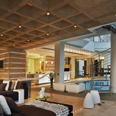 Contemporary Living Room by M Square Lifestyle Design