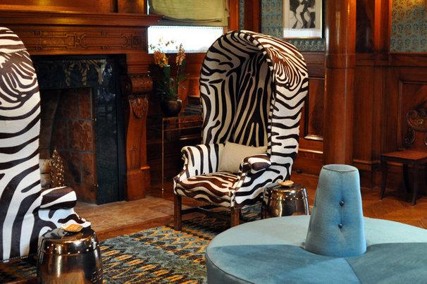 Traditional Living Room The Great Hall: Dara Rosenfeld Design