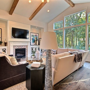 The Great Room - The Overbrook - Cascade Craftsman Family Home