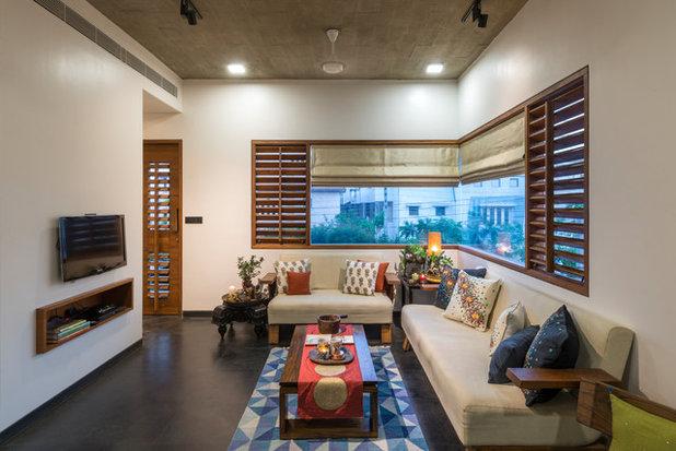 Asian Living Room by Studio Lagom