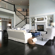 Traditional Living Room by Blondino Design, Inc.