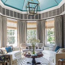 Traditional Living Room by Hartmann&Forbes