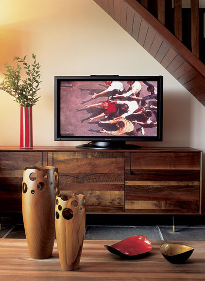 Modern Home Theater by Betty Wasserman