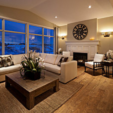 Traditional Living Room by Cardel Designs