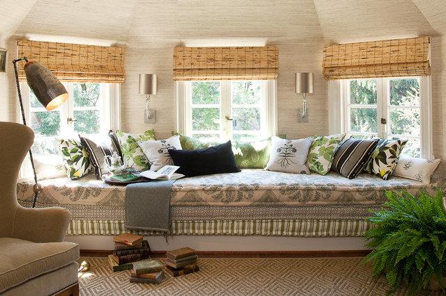 Contemporary Living Room by Lauren Liess Interiors