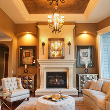 Traditional Living Room by McManus Development Corporation