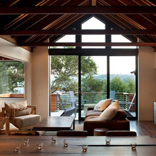 Contemporary Living Room by SB Architects