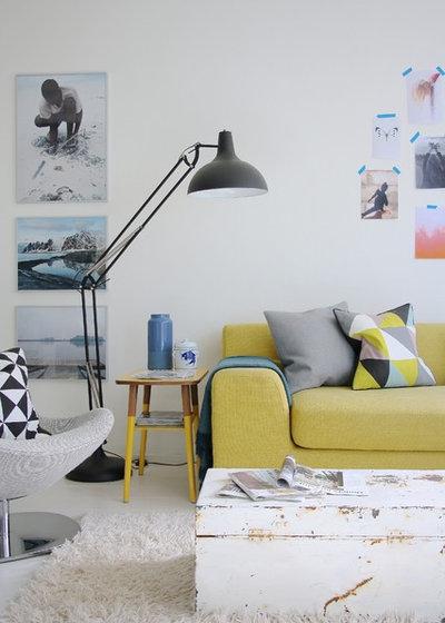 Mobili in legno colorati 19 idee per un restyling cromatico - Pomelli colorati per mobili ...