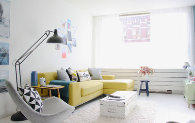 My Houzz: Lighthearted Ease for a Petite Hague Pad
