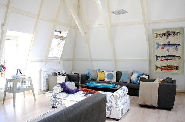 couture in der vertikalen 13 inspirierende wandbeh nge und tapisserien. Black Bedroom Furniture Sets. Home Design Ideas