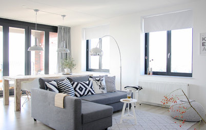 My Houzz: Parents-to-Be Whip Up an Apartment Overhaul, Hold the Color