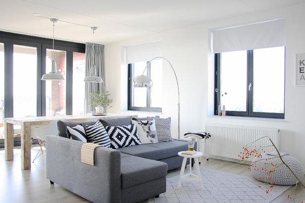 Skandinavisch Wohnbereich by Holly Marder