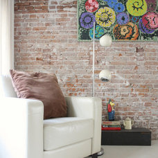 Industrial Living Room by Holly Marder