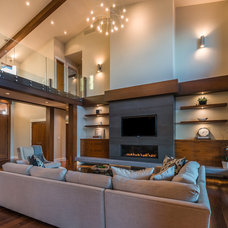 Contemporary Living Room by The Interior Design Group