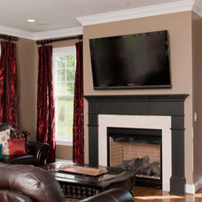 Traditional Living Room by The Stratford Companies