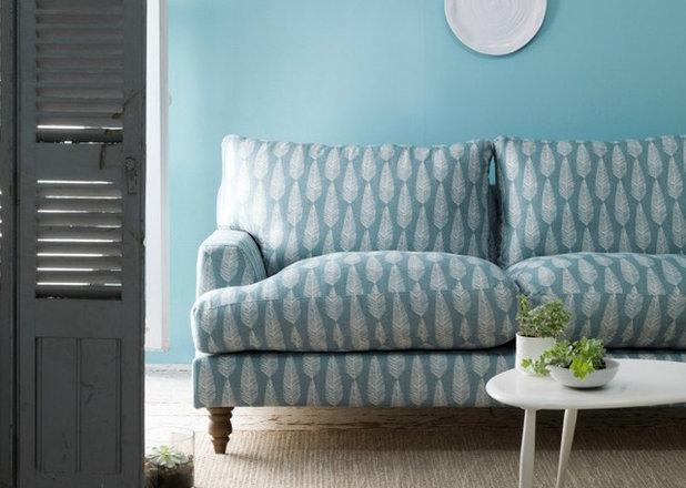 pareti soggiorno azzurro: abbinamento colori pareti cucina foto ... - Soggiorno Azzurro
