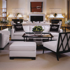 Traditional Living Room by Baker Furniture