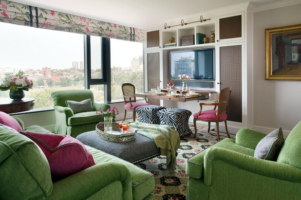 Traditional Living Room by Adams + Beasley Associates