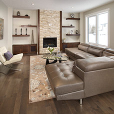 Contemporary Living Room by Smith Homes
