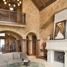Traditional Living Room by Alan Mascord Design Associates Inc