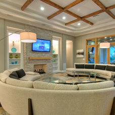 Contemporary Living Room by Chic on the Cheap