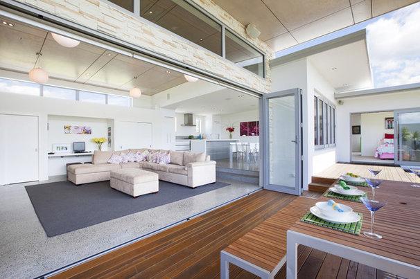 Modern Living Room by Andre laurent