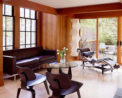 コンテンポラリー リビング by Giulietti Schouten Weber Architects