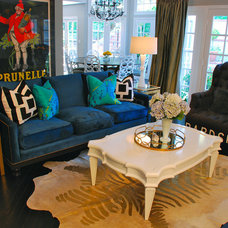 Eclectic Living Room by Glamour Nest
