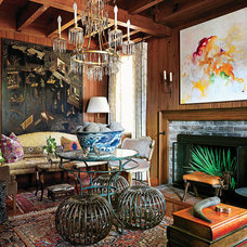 Traditional Living Room by Southern Living