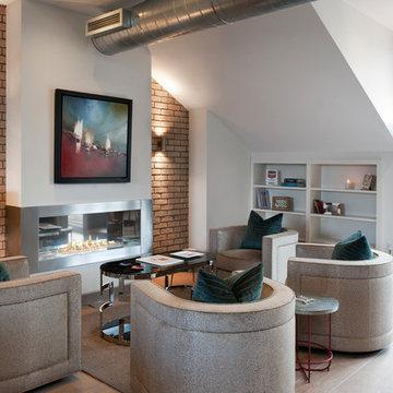 'The Lofts', Penthouse Apartment, Berners Street, Fitzrovia, London, W1