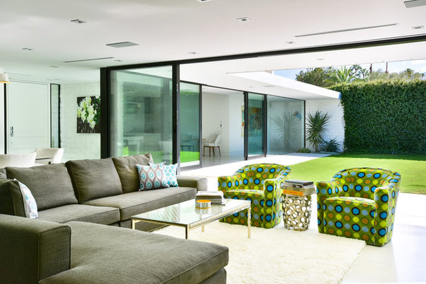 Modern Living Room by Studio AR+D Architects