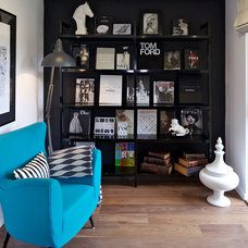 Eclectic Living Room by Suna Interior Design