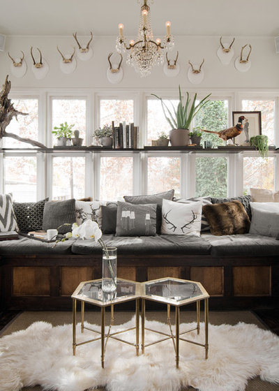 Eclectic Living Room by cityhomeCOLLECTIVE