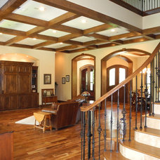 Traditional Living Room by Charles Todd Helton, Architect