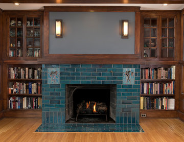 The Mission Fireplace