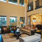 The Burleigh Traditional Living Room Houston By