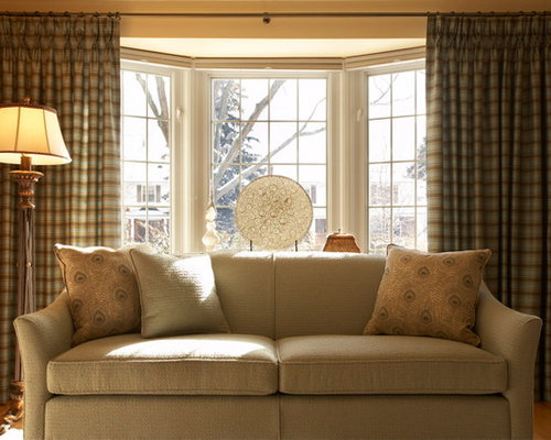 Bay Window Curtains Ideas, Pictures, Remodel and Decor