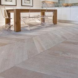 The New Classics Collection in Chevron Parquet by DuChateau Floors - The New Classics Collection in Chevron Parquet by DuChateau Floors