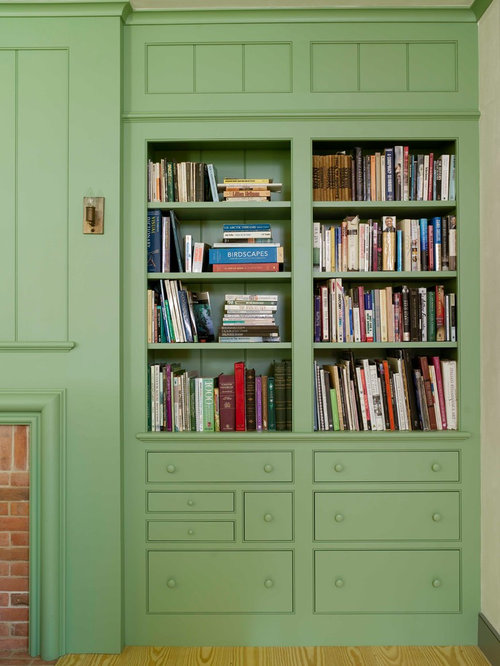 Built-In Bookcases With Drawers Ideas, Pictures, Remodel and Decor